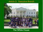 article 2 executive branch2