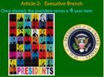 article 2 executive branch5