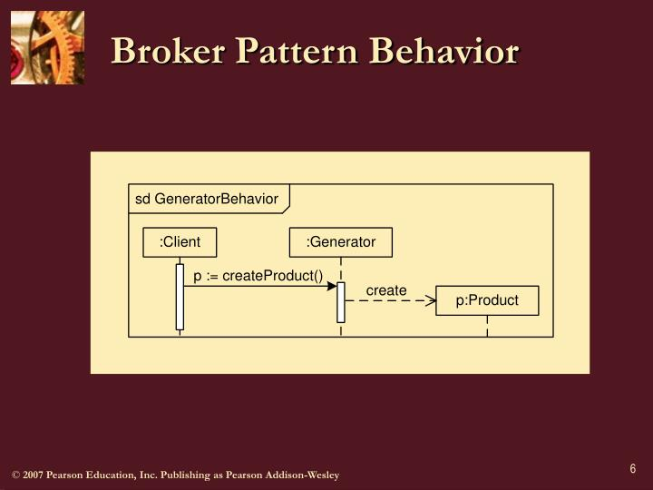 Broker Pattern Behavior