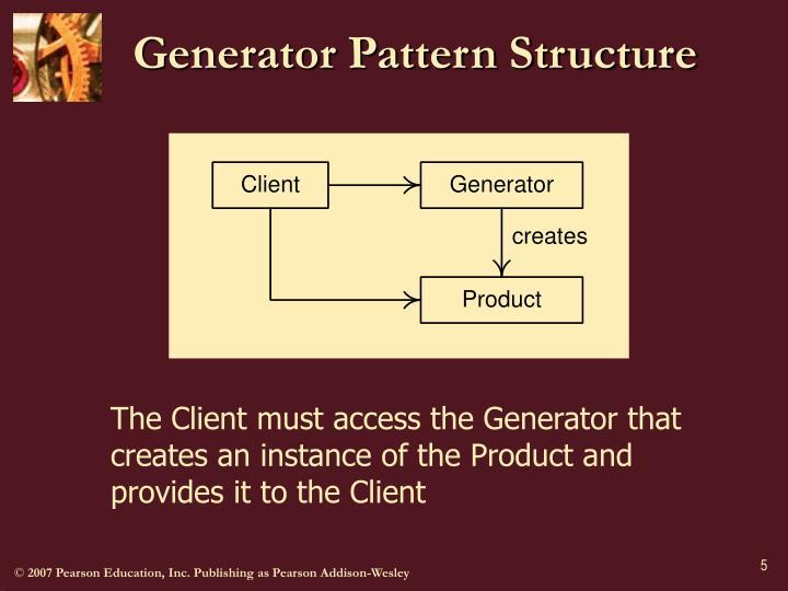 Generator Pattern Structure