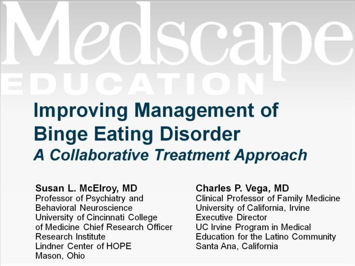 improving management of binge eating disorder a collaborative treatment approach n.