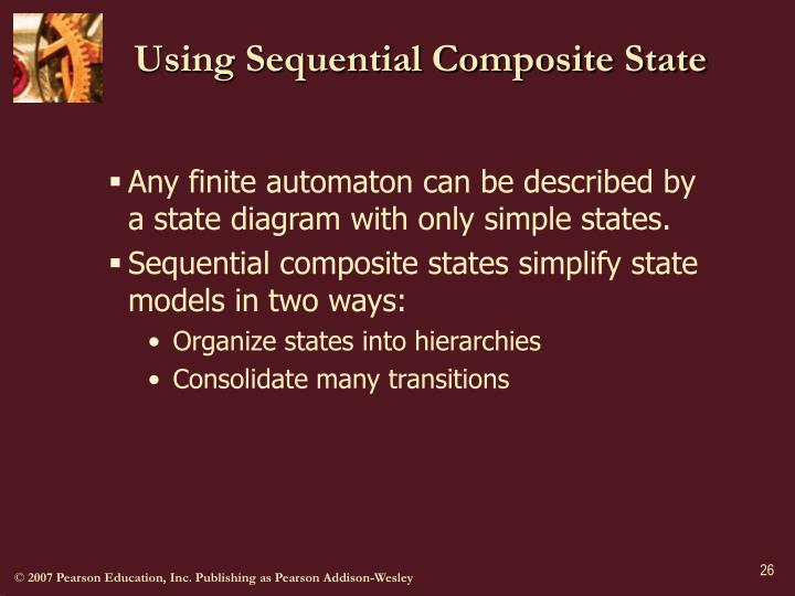Using Sequential Composite State