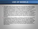 use of models