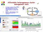 affordable heterogeneous cluster management tools