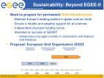 sustainability beyond egee ii