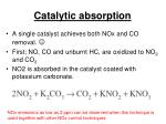 catalytic absorption