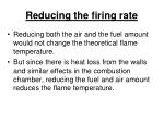 reducing the firing rate