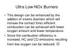 ultra low nox burners1