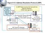 figure 8 12 address resolution protocol arp2