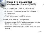 figure 8 16 dynamic host configuration protocol dhcp