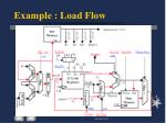 example load flow