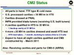 cm2 status