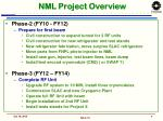 nml project overview1