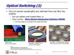 optical switching 2