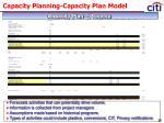 capacity planning capacity plan model18