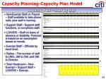 capacity planning capacity plan model32