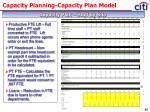 capacity planning capacity plan model33