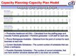 capacity planning capacity plan model42