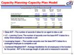 capacity planning capacity plan model5