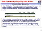 capacity planning capacity plan model6