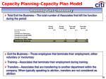 capacity planning capacity plan model7