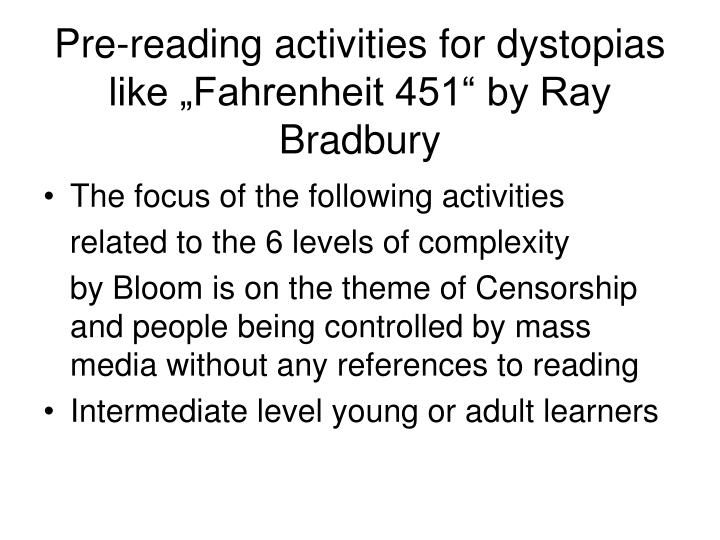 thesis statement for fahrenheit 451 Fahrenheit 451: please tell me if my thesis statement for fahrenheit 451 about conformity and individuality makes sense thesis: in the novel fahrenheit - 3497229.