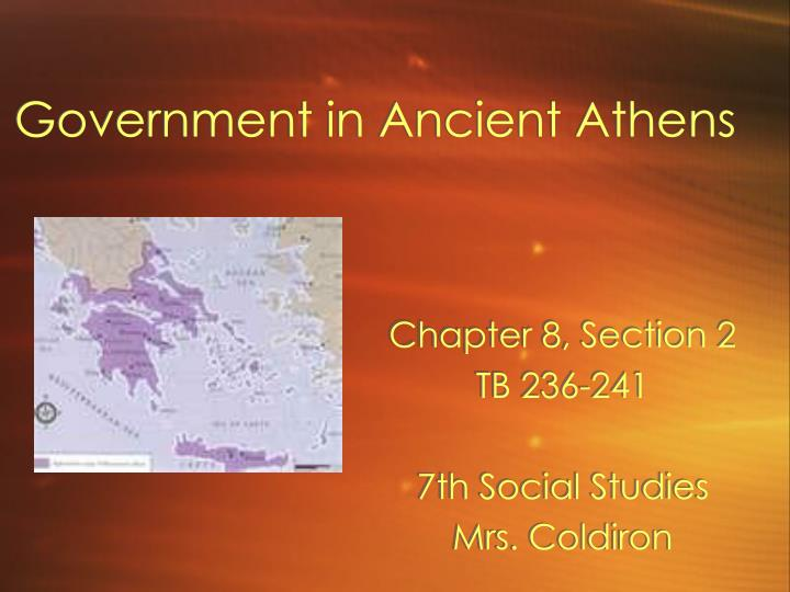 government in ancient athens n.