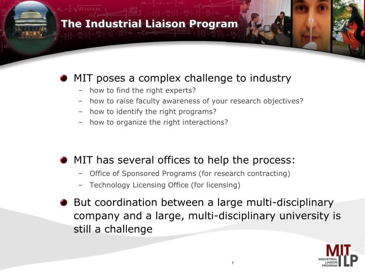 the industrial liaison program n.