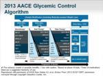 2013 aace glycemic control algorithm