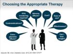 choosing the appropriate therapy