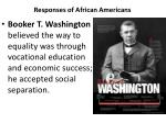 responses of african americans1
