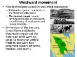 westward movement3
