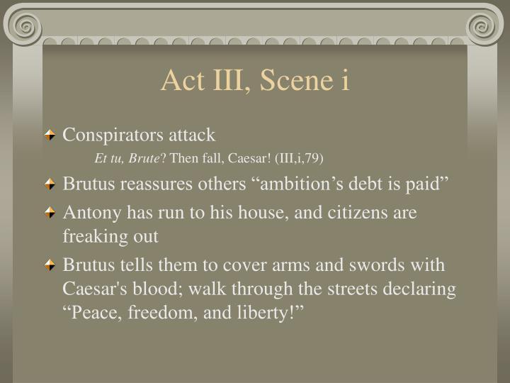 Act iii scene i1