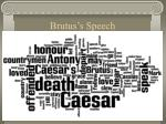 brutus s speech