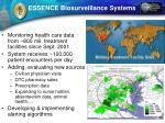 essence biosurveillance systems