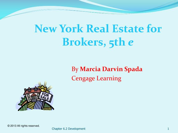 new york real estate for brokers 5th e n.