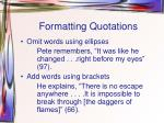 formatting quotations2