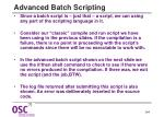 advanced batch scripting