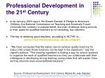 professional development in the 21 st century2
