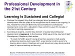 professional development in the 21st century2