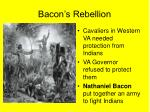 bacon s rebellion
