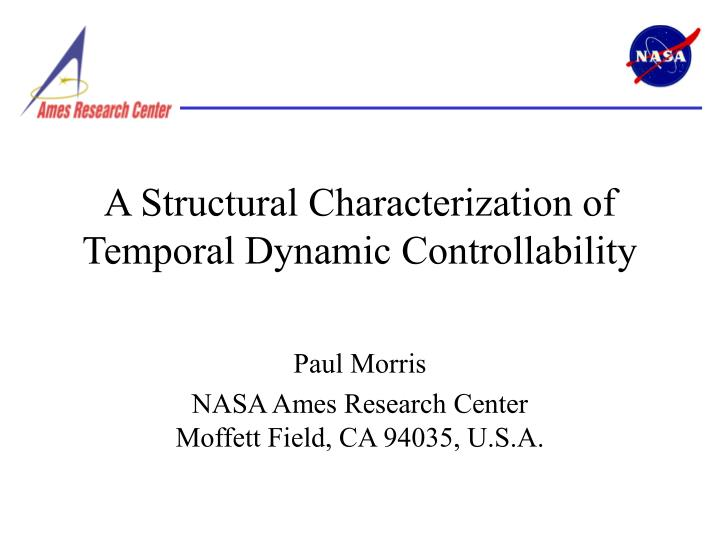 a structural characterization of temporal dynamic controllability n.