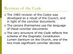 revision of the code