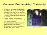 germanic peoples adopt christianity1