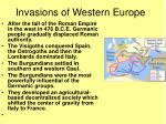 invasions of western europe1