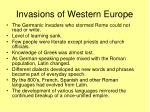 invasions of western europe2