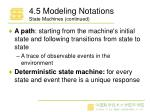 4 5 modeling notations state machines continued1