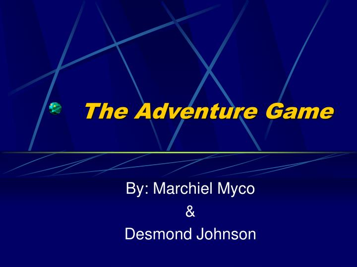 the adventure game n.