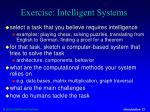 exercise intelligent systems