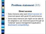 problem statement 3 3